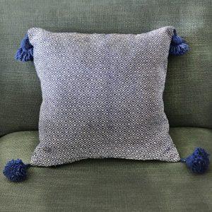 Swana Coussin Taousate Bleu