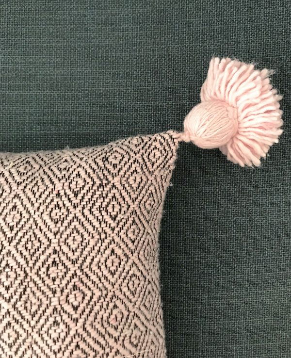 Coussin Taousate Rose